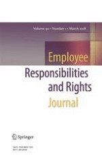 Employee Responsibilities and Rights Journal 1/2018