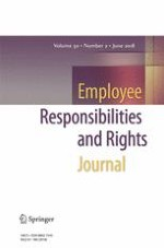 Employee Responsibilities and Rights Journal 2/2018
