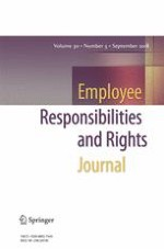 Employee Responsibilities and Rights Journal 3/2018