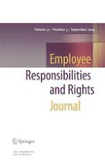 Employee Responsibilities and Rights Journal 3/2019