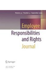 Employee Responsibilities and Rights Journal 3/2020