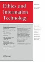 Ethics and Information Technology 4/2014