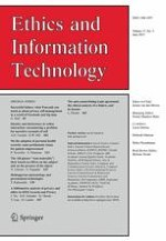 Ethics and Information Technology 2/2015