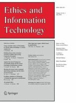 Ethics and Information Technology 2/2016