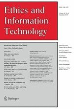 Ethics and Information Technology 4/2016