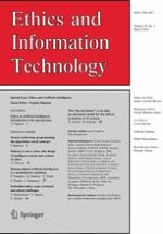 Ethics and Information Technology 1/2018