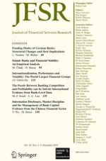Journal of Financial Services Research 2-3/2010