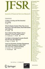 Journal of Financial Services Research 1-2/2011