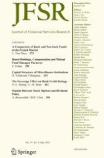Journal of Financial Services Research 3/2015