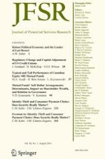 Journal of Financial Services Research 1/2016