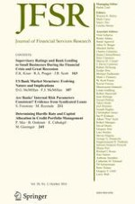 Journal of Financial Services Research 2/2016