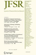 Journal of Financial Services Research 3/2017