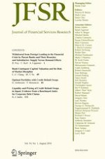Journal of Financial Services Research 1/2018