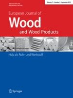 European Journal of Wood and Wood Products 3/1999