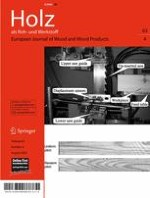 European Journal of Wood and Wood Products 4/2005
