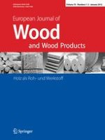 European Journal of Wood and Wood Products 1-3/2012