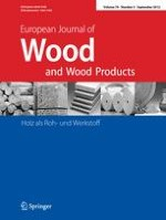 European Journal of Wood and Wood Products 5/2012