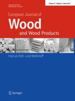 European Journal of Wood and Wood Products 2/2013