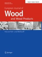 European Journal of Wood and Wood Products 3/2013