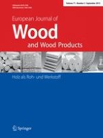 European Journal of Wood and Wood Products 5/2013