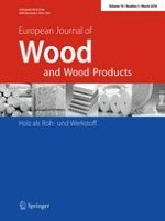 European Journal of Wood and Wood Products 2/2016