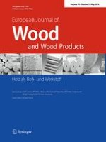 European Journal of Wood and Wood Products 3/2016