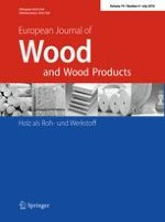 European Journal of Wood and Wood Products 4/2016