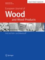 European Journal of Wood and Wood Products 5/2016