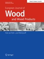 European Journal of Wood and Wood Products 4/2018