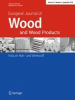 European Journal of Wood and Wood Products 5/2018