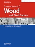 European Journal of Wood and Wood Products 5/2019