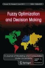 Fuzzy Optimization and Decision Making 2/2011