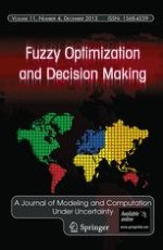 Fuzzy Optimization and Decision Making 4/2012