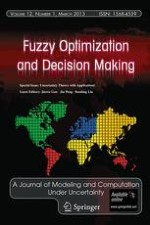 Fuzzy Optimization and Decision Making 1/2013