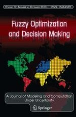 Fuzzy Optimization and Decision Making 4/2013