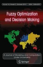Fuzzy Optimization and Decision Making 3/2015