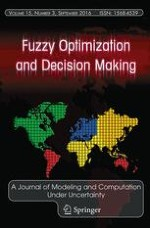 Fuzzy Optimization and Decision Making 3/2016