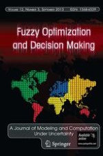 Fuzzy Optimization and Decision Making 1/2004