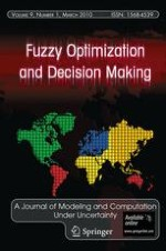 Fuzzy Optimization and Decision Making 1/2010