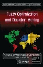 Fuzzy Optimization and Decision Making 4/2010