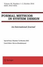 Formal Methods in System Design 1-2/2016
