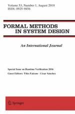Formal Methods in System Design 1/2018