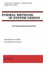 Formal Methods in System Design 2/2018