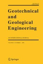 Geotechnical and Geological Engineering 1/2006