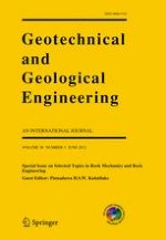 Geotechnical and Geological Engineering 3/2012