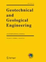 Geotechnical and Geological Engineering 4/2014