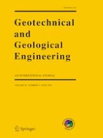 Geotechnical and Geological Engineering 3/2020