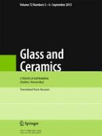 Glass and Ceramics 5-6/2015