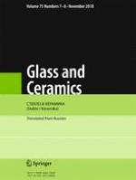 Glass and Ceramics 7-8/2018