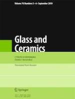 Glass and Ceramics 5-6/2019